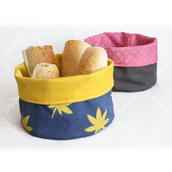 رومیزی گرد پارچه ای باکس رومیزی نان | فروشگاه اینترنتی دکوداریس