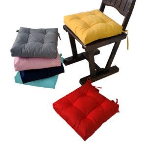پد صندلی ساده رنگی