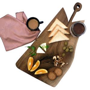 تخته سرو صبحانه چوبی