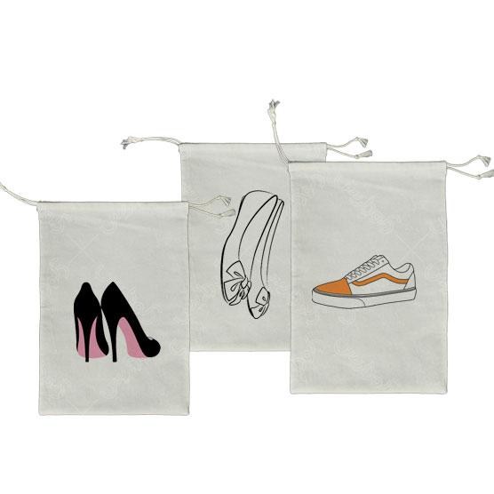 کیسه پارچه ای نگهداری کفش