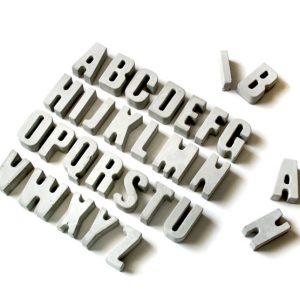 استند تزیینی حروف