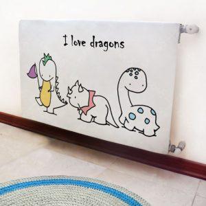 کاور شوفاژ اتاق کودک